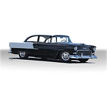 1955 Chevrolet 'Post' Coupe 210 Photographic Print