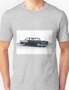 1955 Chevrolet 'Post' Coupe 210 Unisex T-Shirt