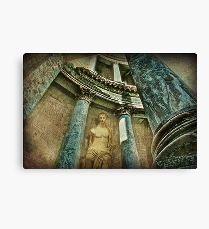 History Snippets Canvas Print