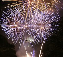 Hopetoun House Fireworks (2) by Sara-Jane  Keeley