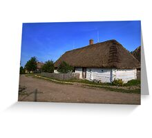 Cottage in the countryside Greeting Card