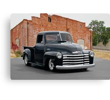 1950 Chevrolet '3100' Pickup Truck Canvas Print