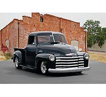 1950 Chevrolet '3100' Pickup Truck Photographic Print