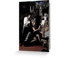 Gothic Steam Greeting Card