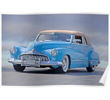 1946 Buick 'Super' Convertible Poster