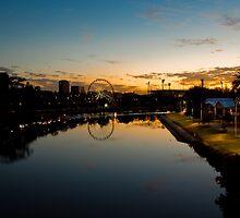 Yarra Sunrise by Emily Jansen