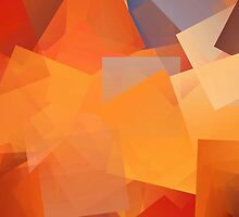 Orange Cubes by PPPhotoArt