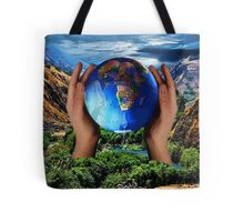 THE EARTH IS CRYING OUT..CAN YOU FEEL IT? DO U SEE IT? CAN MAN REPAIR WHAT MAN HAS DESTROYED?  Tote Bag
