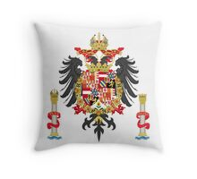 The Coat of Arms of Charles V Throw Pillow