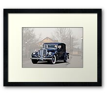 1932 Pierce Arrow Model 54 Club Brougham Framed Print