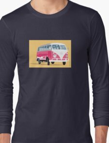 VW camper van in sunshine Long Sleeve T-Shirt