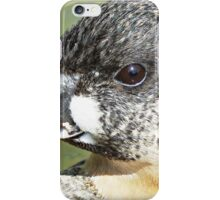""""""" A White back  on the edge"""" iPhone Case/Skin"""