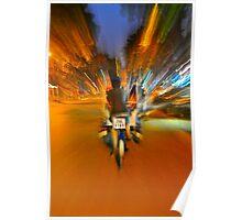Cyclo Ride - Streets of Hanoi  Poster