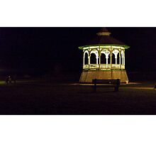 Gazebo Bench Photographic Print