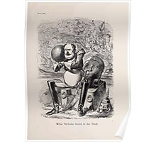 Cartoons by Sir John Tenniel selected from the pages of Punch 1901 0021 What Nicholas Heard in the Shell Poster