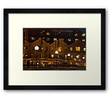 At the Docks Framed Print