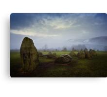 Castlerigg Stone Circle, Cumbria. UK Canvas Print