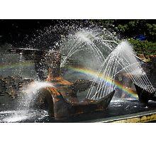 Captain Cook Fountain Photographic Print