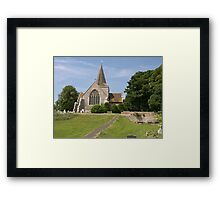 Alfriston Parish Church, Sussex UK Framed Print