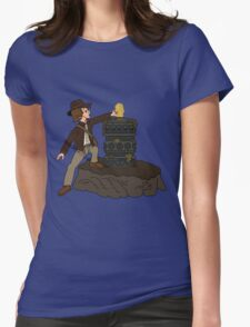 IDOL IN THE STONE Womens Fitted T-Shirt