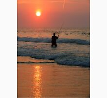 #411   Surf Fishing At Sunrise Unisex T-Shirt