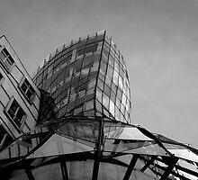 Dancing House at Prague by fanis logothetis