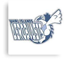 Whirl Islands Aeroblasts: Lugia Sport Logo Metal Print
