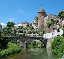 Sèmur-en Auxois by Tristram