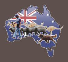 Briard herding Australian-style ! by BriardRescue