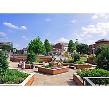 Corporation Street Garden, Derby Photographic Print