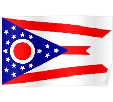 Flag of Ohio Poster