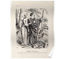 Cartoons by Sir John Tenniel selected from the pages of Punch 1901 0040 Miranda and Prospero Poster