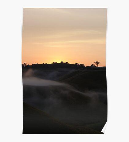 Volcanic Mist II Poster