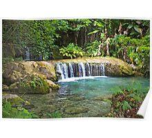 Vila Waterfall Poster