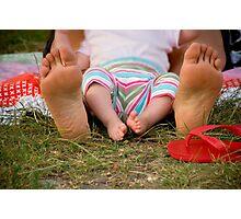 Little Feet Photographic Print