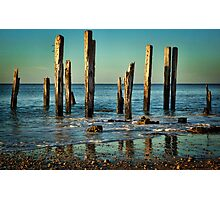The Jetty Ruins at Port Willunga Photographic Print