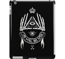 Ubi Mel Ibi Apes iPad Case/Skin
