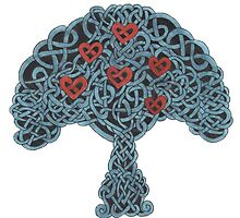 Hearts Hung In The Tree Of Life by redqueenself