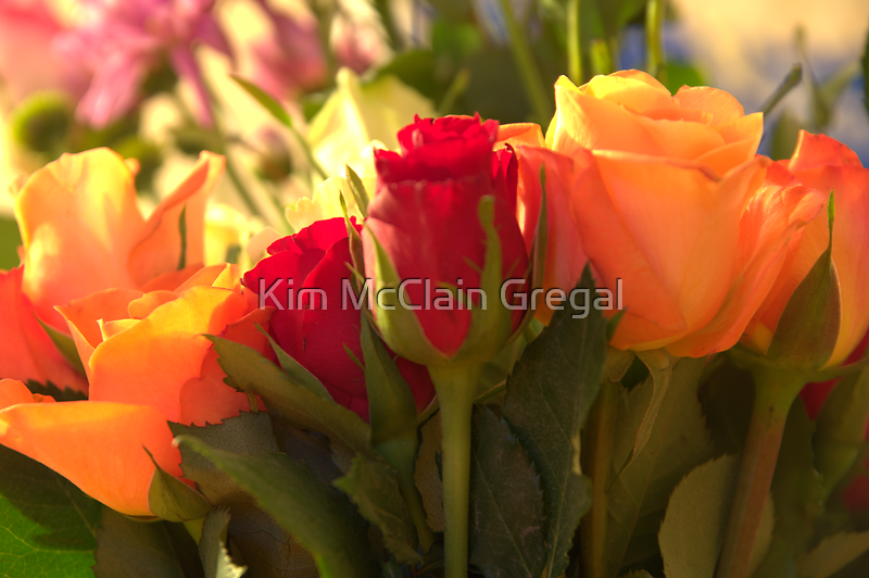 Bouquets, As Is by Kim McClain Gregal
