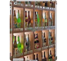Shelves Of Sake And Sochu iPad Case/Skin