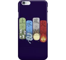 Ghibli Elemental Charms iPhone Case/Skin