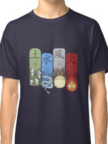 Ghibli Elemental Charms Classic T-Shirt