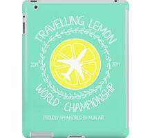 Travelling Lemon World Championship 2014 iPad Case/Skin