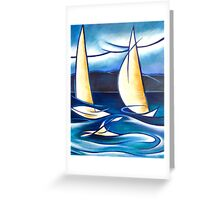 On the Water Greeting Card