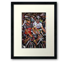 Problem Lance? Framed Print