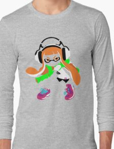 Splatoon Inkling Color Art Long Sleeve T-Shirt