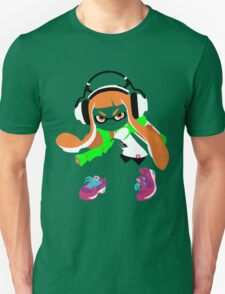 Splatoon Inkling Color Art T-Shirt