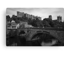 Castle and Cathedral Canvas Print