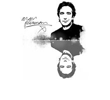 Alan Rickman, stylish Fanart by scatharis
