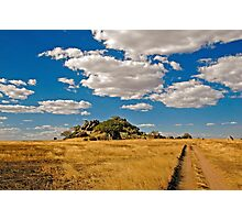 The road to Kopje Photographic Print